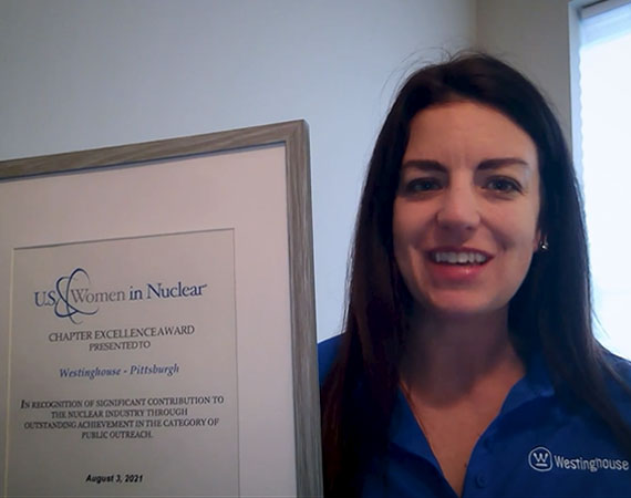 In the national spotlight: Our Women in Nuclear (WIN) Pittsburgh Chapter